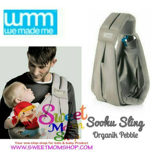 dff68fd15a1 We Made Me Soohu Sling - Pebble Grey »» Sweet Mom Shop Jual mainan ...