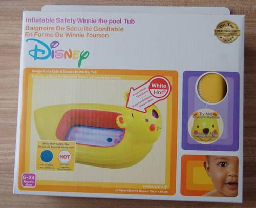 Munchkin Disney Safety Inflatable duck tub
