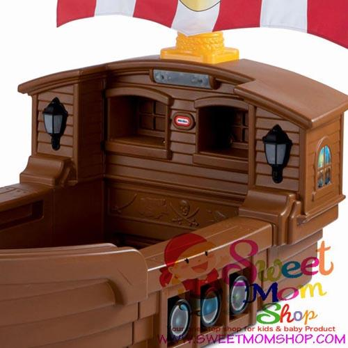 Pirate Ship Toddler Bed.Little Tikes Pirate Ship Toddler Bed