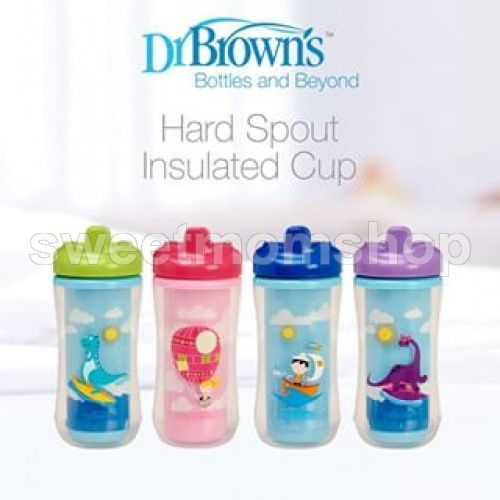 Dr Brown's Hard Spout Insulated Cup 300ml