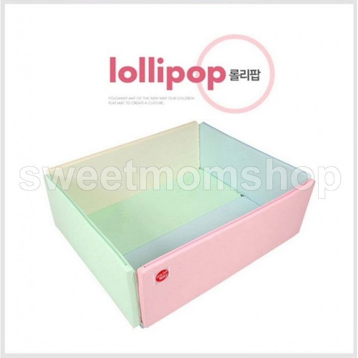 Foldaway Bumper Mat Grand - Lollipop