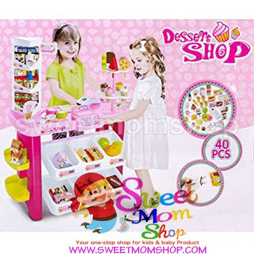 Dessert Shop Super Store Luxury Supermarket Play Set