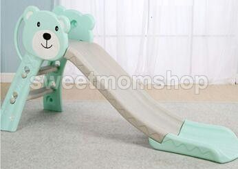 Koala Slide with Basket Ball - Green