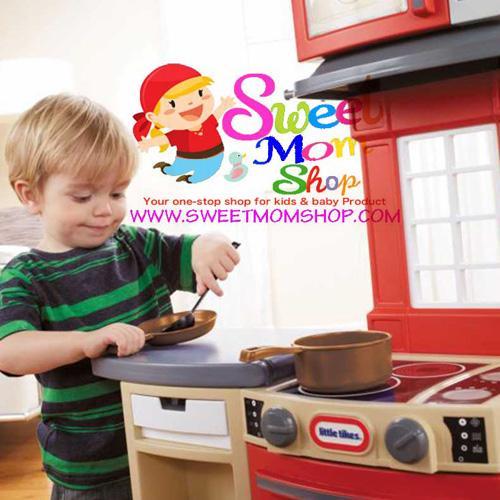 Little Tikes Cook N Store Kitchen Red Sweet Mom Shop Jual Mainan Anak Dan Perlengkapan Bayi Serta Produk Kecantikan Online